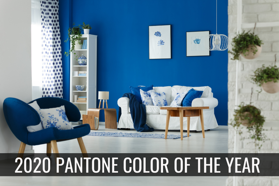 2020 Pantone Color of the Year – Classic Blue